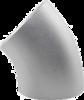 "Отвод 45"" Dn25 (29х1.5мм) DIN 11852 AISI304L/1.4307"