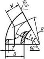 Отвод 60-18х3 ст.10Х17Н13М2Т ГОСТ 17375
