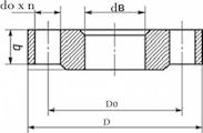 Фланец плоский 25-10-01-1-B-12х18н10т-IV ГОСТ 33259-2015